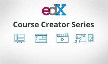 Logo dari penyedia kursus edX
