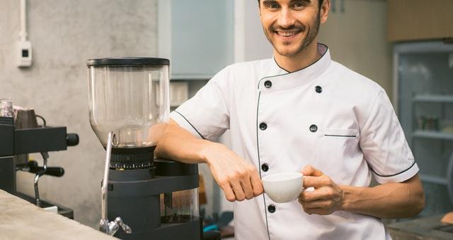 Ilustrasi seseorang yang menjadi koki