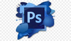 Ilustrasi logo photoshop