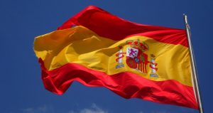 Ilustrasi bendera spanyol