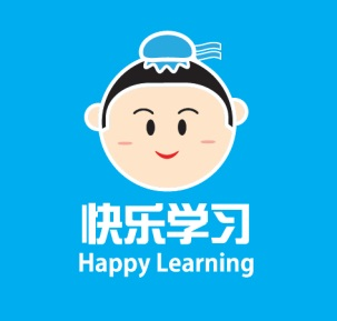 Ilustrasi logo happy learning