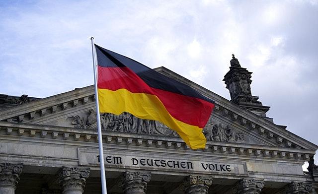 Ilustrasi Jerman sebagai negara berbahasa Jerman