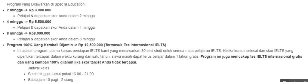 Tempat kursus IELTS di Jakarta, kursus IETLS, rekomendasi tempat kursus IELTS, saran kursus IELTS, kursus IELTS berkualitas